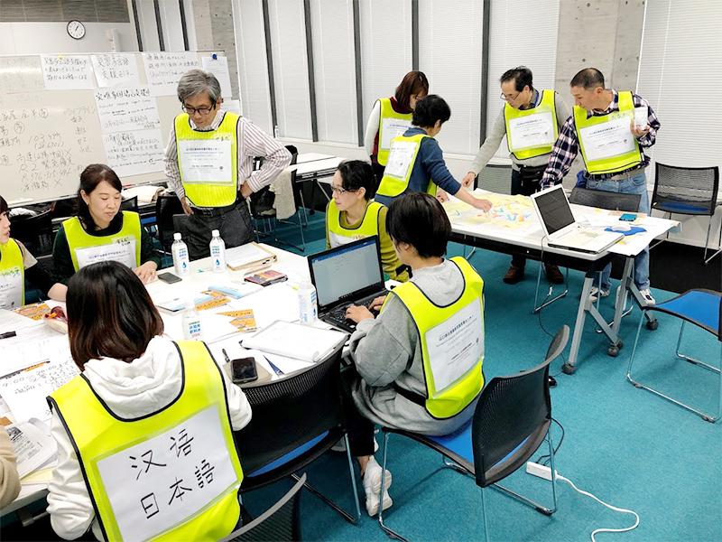 画像:災害時外国人サポーター