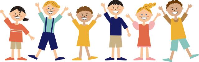 画像:多国籍の子どもたち