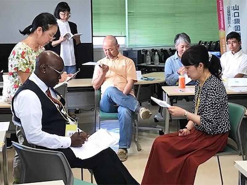 画像:コミュニティ通訳ボランティア講座