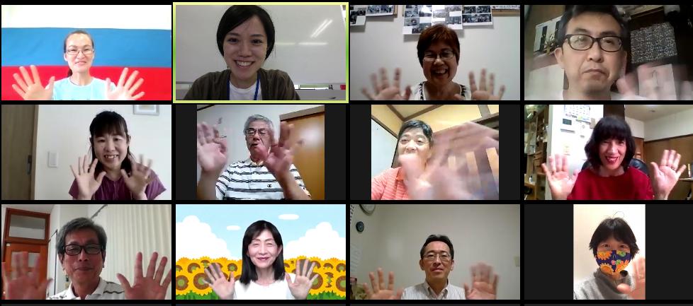 画像:オンライン外国文化講座を開催しました!