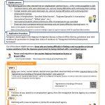 画像:Guide to Support for Continuous Employment for Foreigners Who Have Been Dismissed, etc.