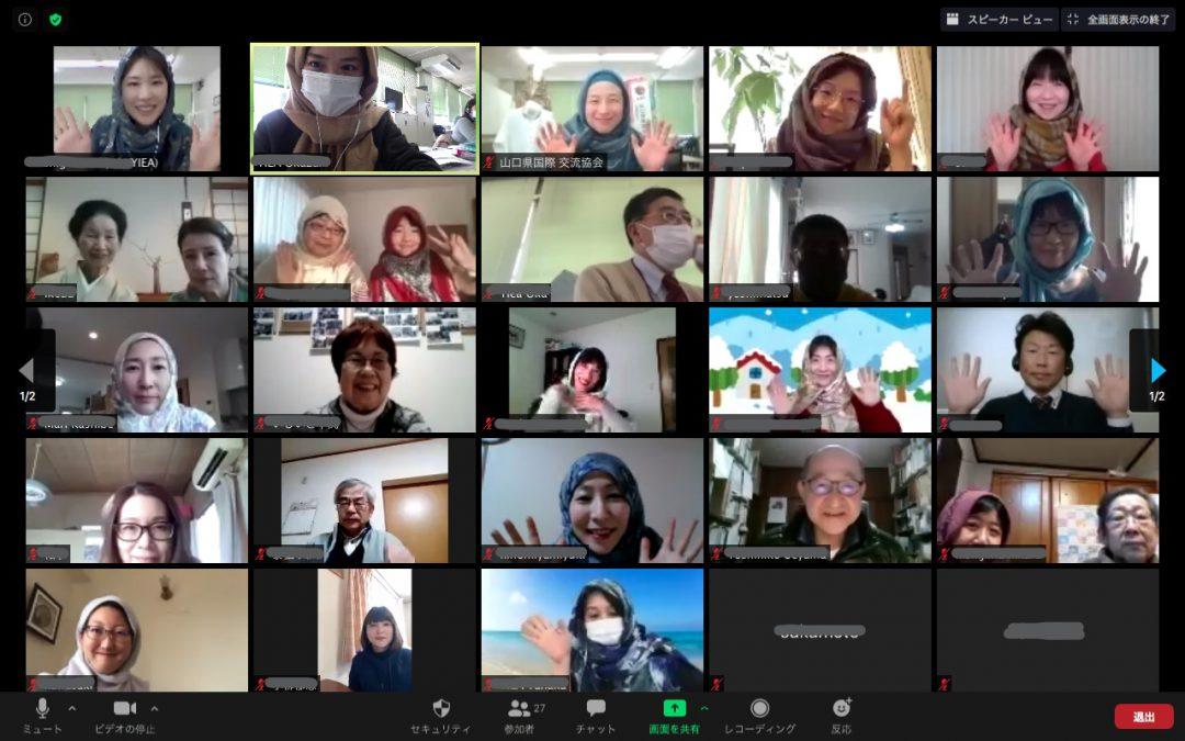 画像:タブカフェ(スーダン)オンラインを開催しました!