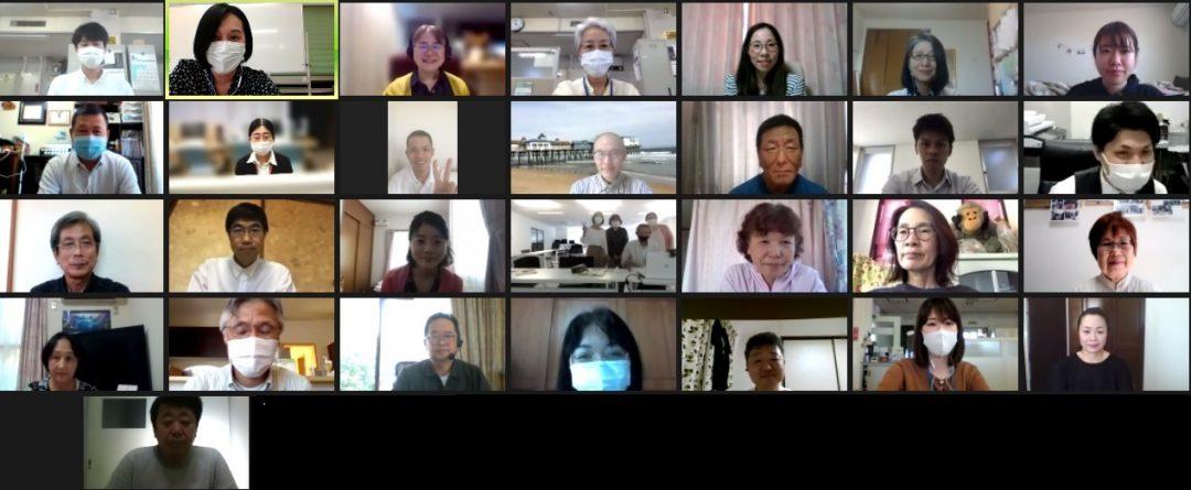 画像:令和3年度地域日本語教育推進事業(県委託事業)「やさしい日本語講座(オンライン)」を開催しました!