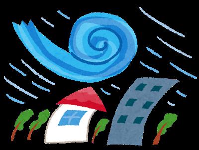 画像:2021.09.16 台風(たいふう)に気(き)をつけてください! | Be on alert for typhoons! | 警戒台风!| Cảnh giác với mưa bão! | Mag-ingat sa mga bagyo!