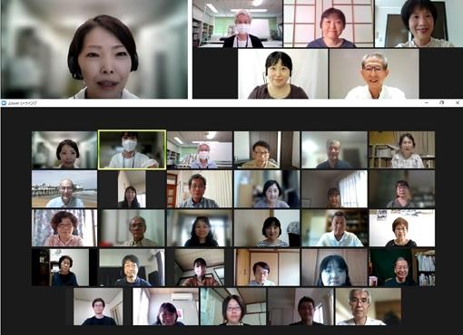 画像:令和3年度地域日本語教育推進事業(山口県委託事業)「日本語ボランティア入門講座(オンライン)」を全3回で開催しました♬